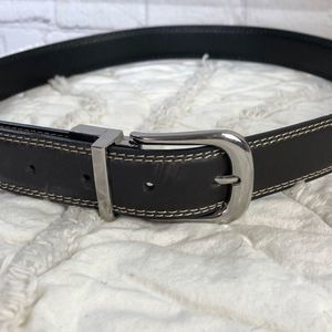 Wrangler 32 inch bonded leather belt